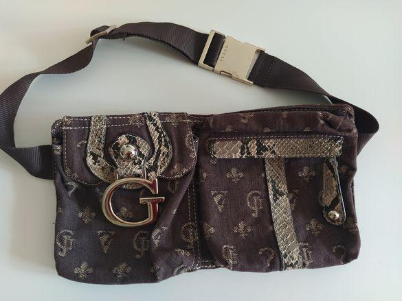 Дамска чанта за кръст на Guess !