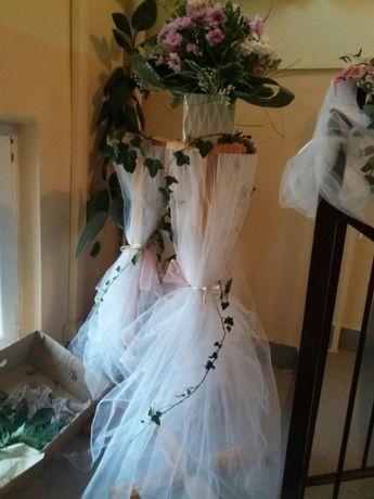 Stâlpişori intrare nuntă