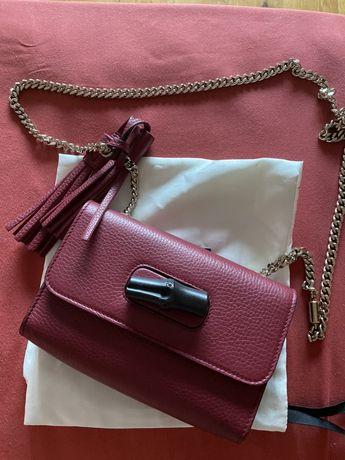 Vand Gucci mini bamboo chain strap bag