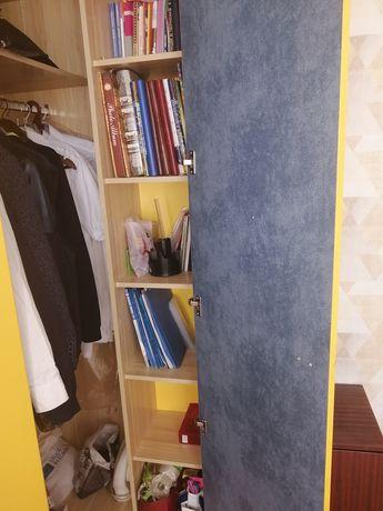 Детская двухэтажная кровать с шкафом(любимый дом)