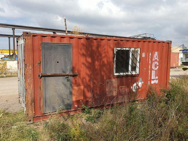 Продаю вагончик строительный 2,4×6 м в Караганде.