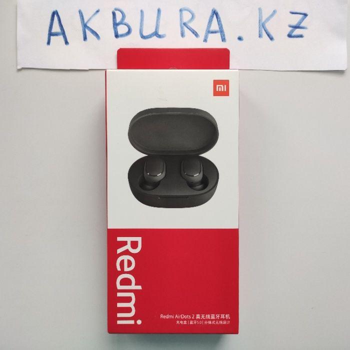 100% Оригинал Redmi AirDots 2, model 2o2o года. Доставка Алматы - изображение 1