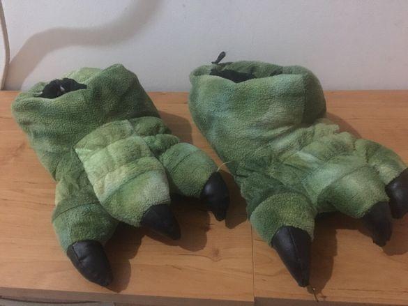 Динозавърски пантофки
