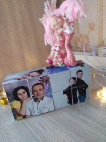 Фото кубик