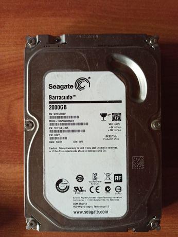 HDD(жесткий диск) 2TB Seagate Barracuda