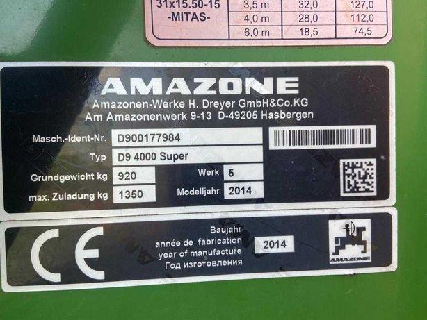 Amazone D9 4000 super