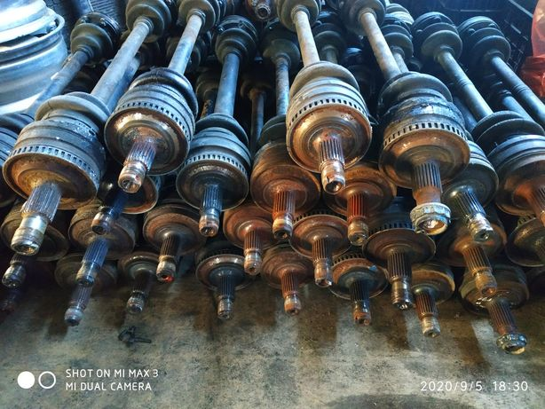 Полуоси (гранаты) на Мерседес