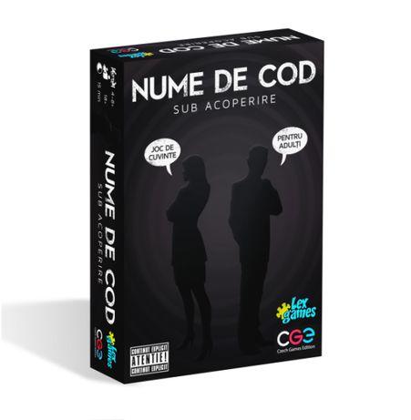 """Joc NUME DE COD CODENAMES nou SIGILAT Vers. noua 2019 """"Sub Acoperire"""""""