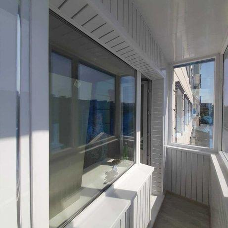 Обшивка балкона, быстро и недорого