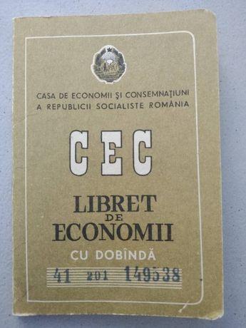 Libret de economii CEC