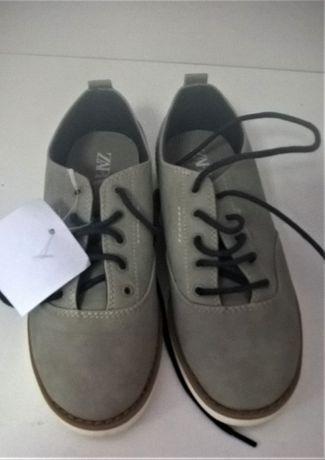 Нови кожени обувки Zara 28 и 32 номер