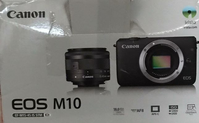 Camera Canon EOS M10 mirrorless