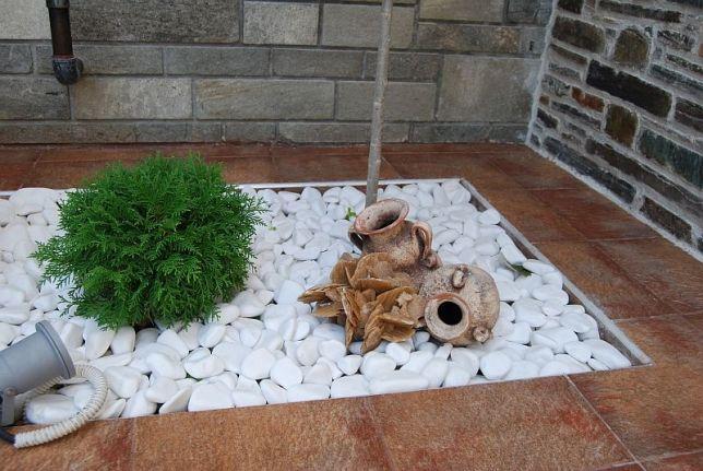 Pietricele marmura alba Thasos 1-3/3-6/6-10/10-25cm- pret/tona