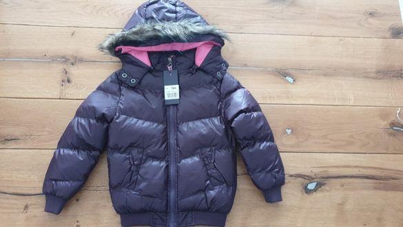 Зимно яке момиче, размер 3-4 години