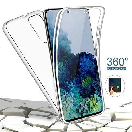 Samsung Note 10 Lite S10 Lite Husa 360 Fata Spate Plastic Transparenta