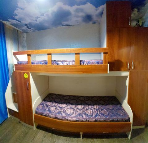 Кровать 2х этажная