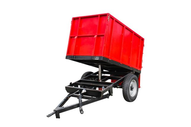 Remorca 1500 Kg basculabila hidraulic pt tractor 15 - 45 CP TA77c