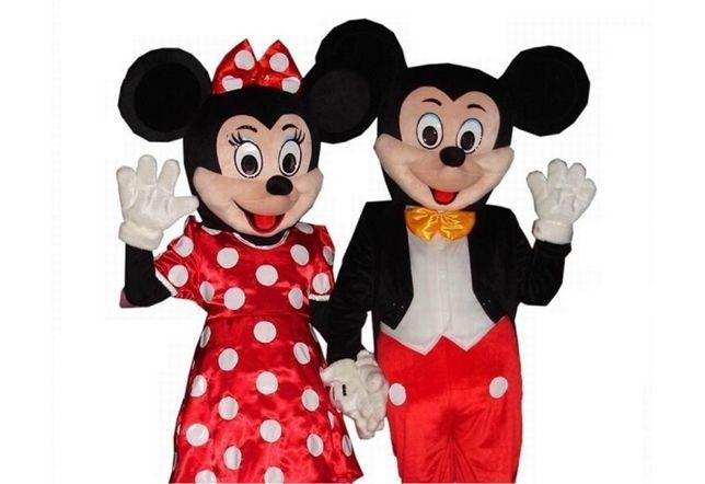 Minnie si Mickey,picturi pe fata,ursitoare