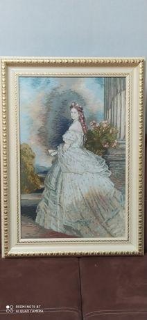 Гоблен -принцеса Сиси