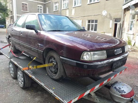 Ауди 80 2.0 16V 137 коня DOHC Audi 80 на части