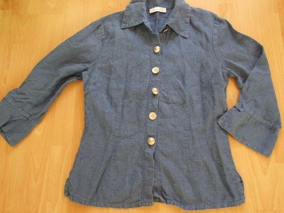 Elisa Cavaletti оригинална стилна риза от лен