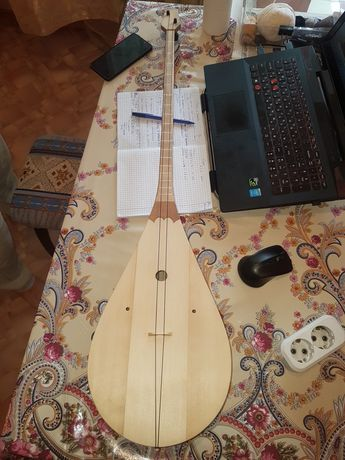 Реставрация муз инструментов . Домбыра скрипка қобыз Гитара виолончель