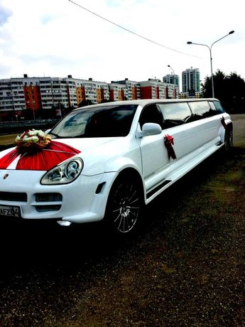 Лимузин Porsche Cayenne роддом выписка Свадьба день рождения   Актобе