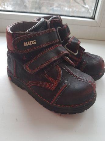 Ботинки весна-осень кожаные, ортопеды, Tiflani, Турция, размер 23