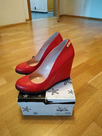 Обувки Bianki от естествена кожа