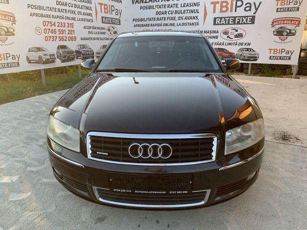Audi A8,2005,motor 4.0tdi quattro,posib rate,avans 0
