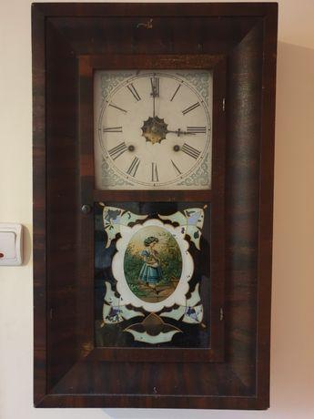 Pendula de perete americana, by Waterbury Clock Company, sec XIX