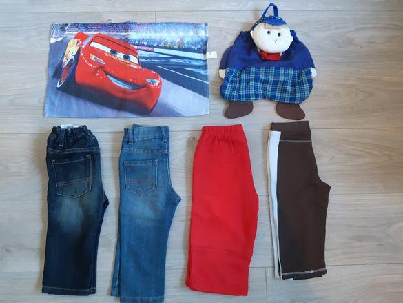 Лот НОВИ панталони и дънки  GEORGE за момче  размер 86