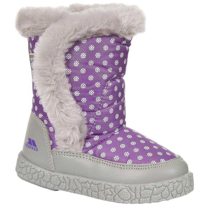 Vand cizme originale,noi, neprobate Trespass nr.25 violet+alb,pt copii Bucuresti - imagine 1