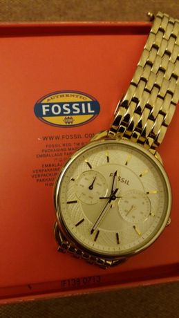 Fossil Tailor Gold 3714