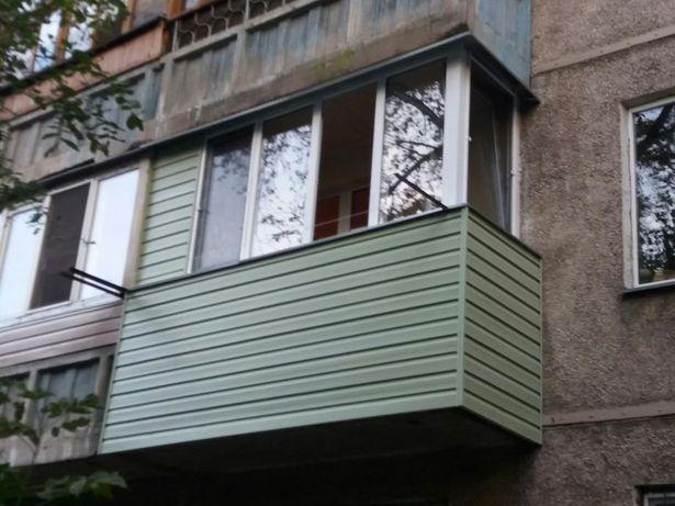 Утепление,остекление и отделка балконов или лоджий качественно!