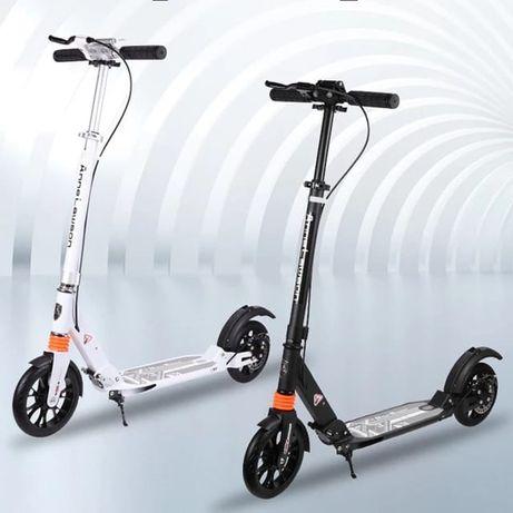 Самокат scooter urban с ручным дисковым тормозом и ароматизаторами
