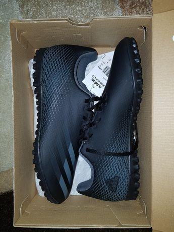 Ghete de fotbal Adidas X GHOSTED. Fg M EH2833 negru negru