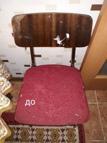 Перетяжка мягкой мебели у вас дома