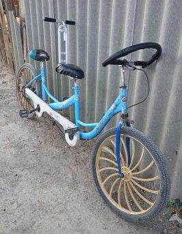 семейный велосипед