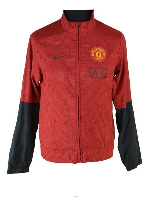 Bluza trening barbati Nike Manchester United marimea S 2009-2010 AG25 Bistrita - imagine 1