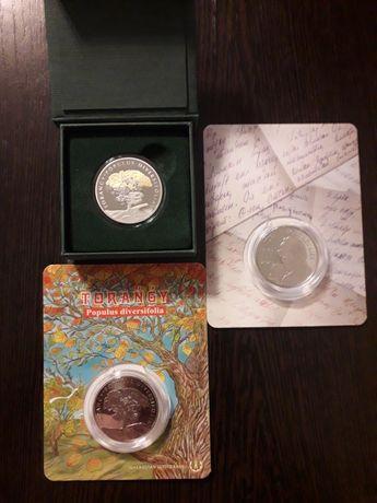 Монеты Туранга 200 пруф/лайк, Туранга 100, Молдагалиев 100.