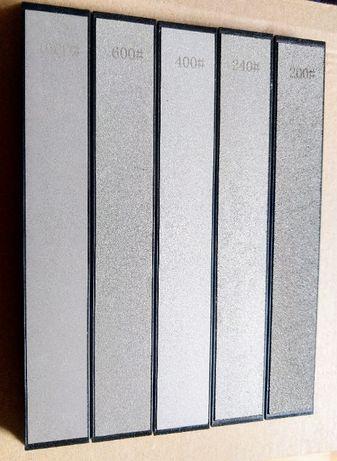Диамантени плочки, заточване на нож, точило грит от 200 до 1000
