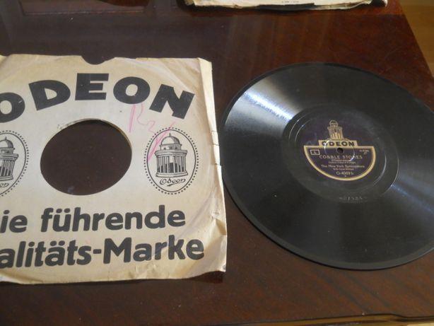 Placa patefon/gramofon Odeon-Foxtrot, in coperti originale