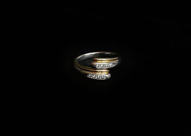 Кольцо с бриллиантом, золото 750 Россия, вес 4.88 г. «Ломбард Белый»