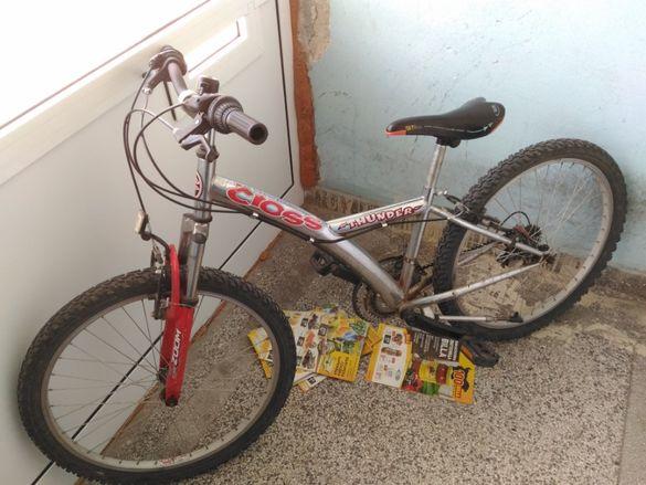 "Детско-шношески велосипед Cross Thunder 24"""
