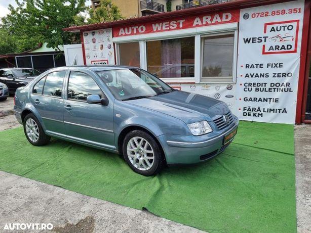 Volkswagen Bora Model Pacific euro 4 clima cash/rate fixe garantie Auto West Arad
