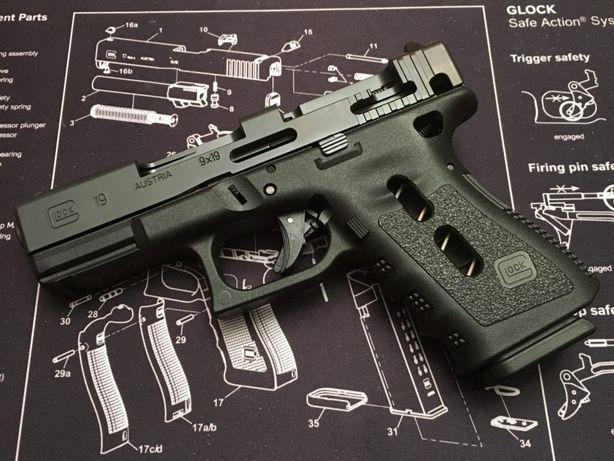 Pistol (Modificat Co2) Cu Aer Comrpimat Airsoft Pusca