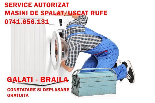Reparatii masini de spalat rufe GALATI.DEPLASARE+CONSTATARE-GRATUITĂ.