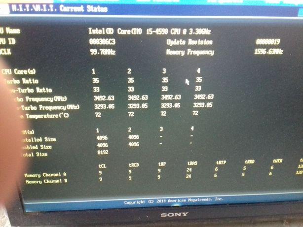 Procesor i5 4590, eventual kit placa baza GA-B85-HD3 si ram gaming
