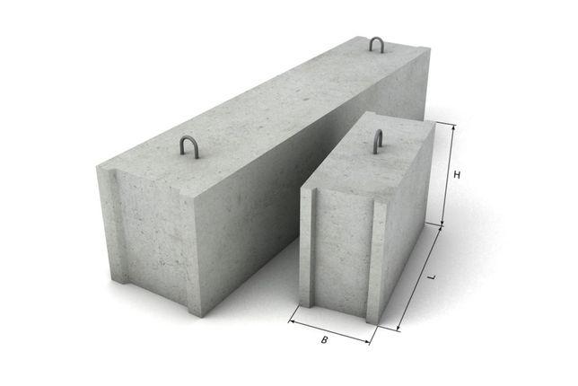 Бетонные блоки ФБС Фундаментные блоки